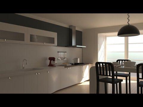 Corona render İnterior Rendering Tutorial Part 3 texturing 3ds max ★★★