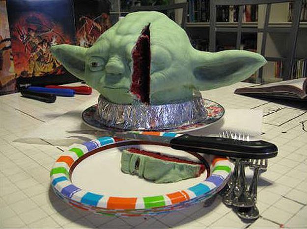 I would eat the eye of Yoda any day. *chortle*