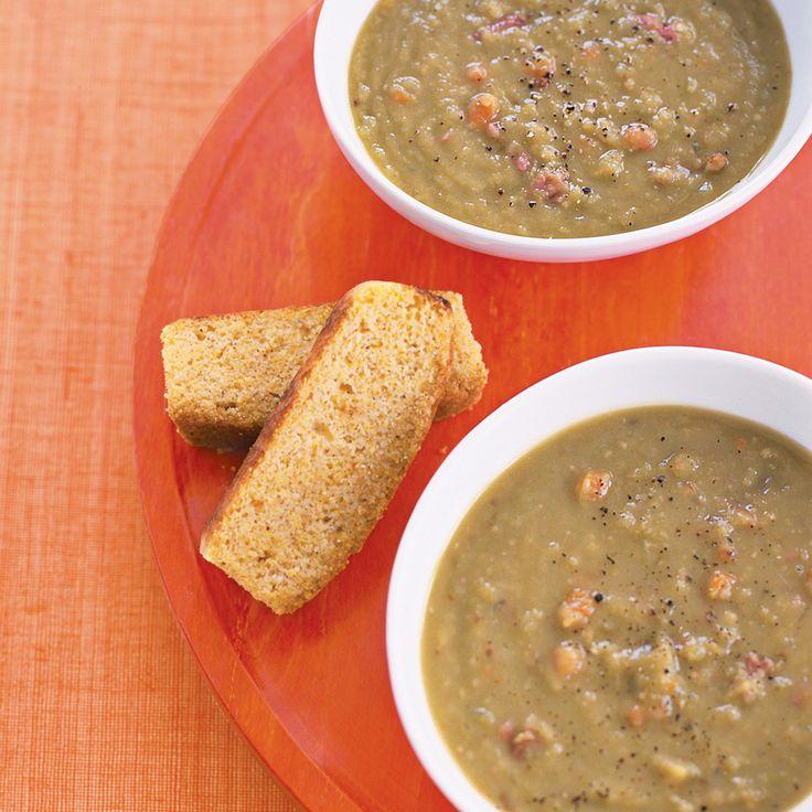 Slow-Cooker Recipe: Smoky Pea Soup Recipe | MyRecipes