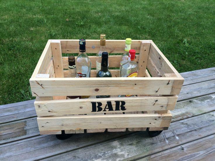 Exceptional Coffre Bar Bois #5: DIY   Bar   Bois  Meubles-et-rangements-coffre-de-