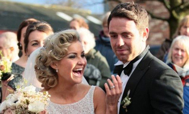 Former Blue Peter presenter Helen Skelton marries Richie Myler
