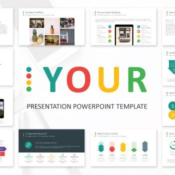 361 best powerpoint presentations images on pinterest | powerpoint, Presentation templates