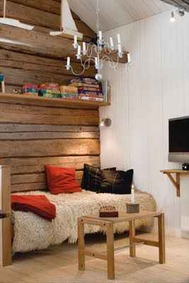 great look for a cabin I might have one day.
