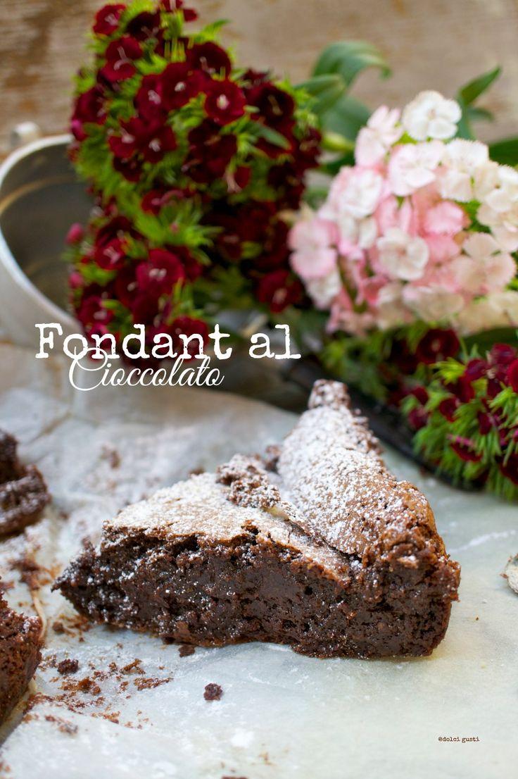 fondant al cioccolato ricetta