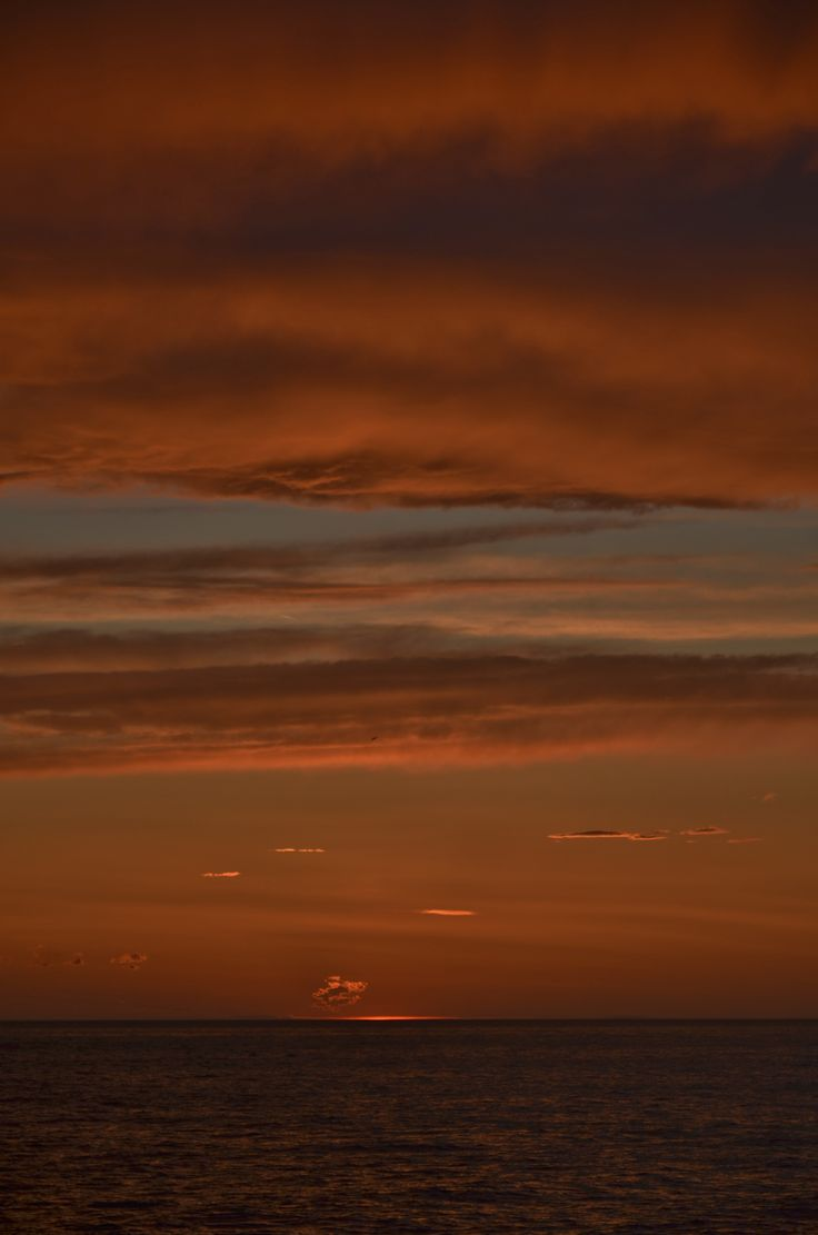 tramonto al trabucco