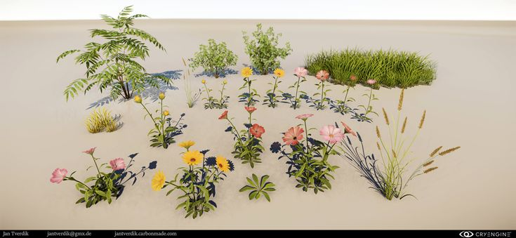 ArtStation - Nature Environments, Jan Tverdik