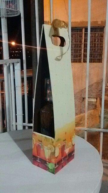 Empaque para botellas de vino