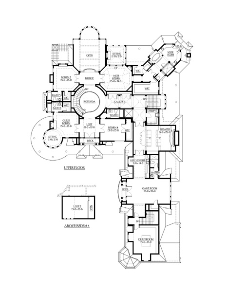 Farmhouse Victorian House Plan 87643 Room Crafts And