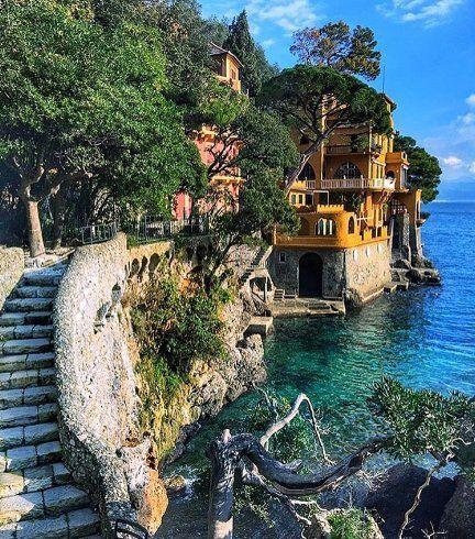 Beautiful place of Portofino! #portofino #italy