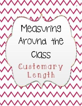 *FREEBIE* My students loved this activity! They especially loved choosing their own object to measure, as many of them chose to measure me! : )