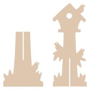 MDF елемент - Къщичка на дърво
