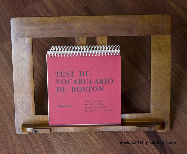 test de vocabulario de boston: