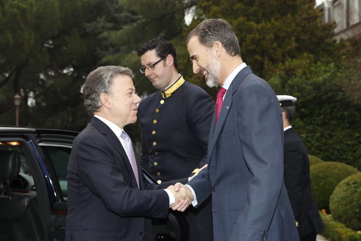 Lunch with Juan Manuel Santos Calderón, President of the Republic of Colombia | 13.12.2016 - click to read more