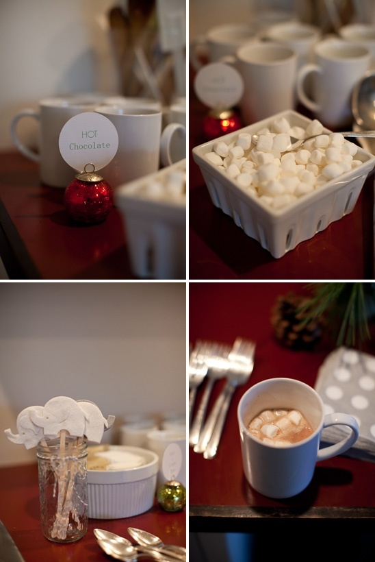 Winter Baby Shower... But great idea for Any Holiday Occation
