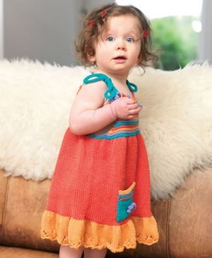 Free Knitting Pattern Summer Dress : 17 best images about Baby Knits on Pinterest Baby patterns, Free pattern an...