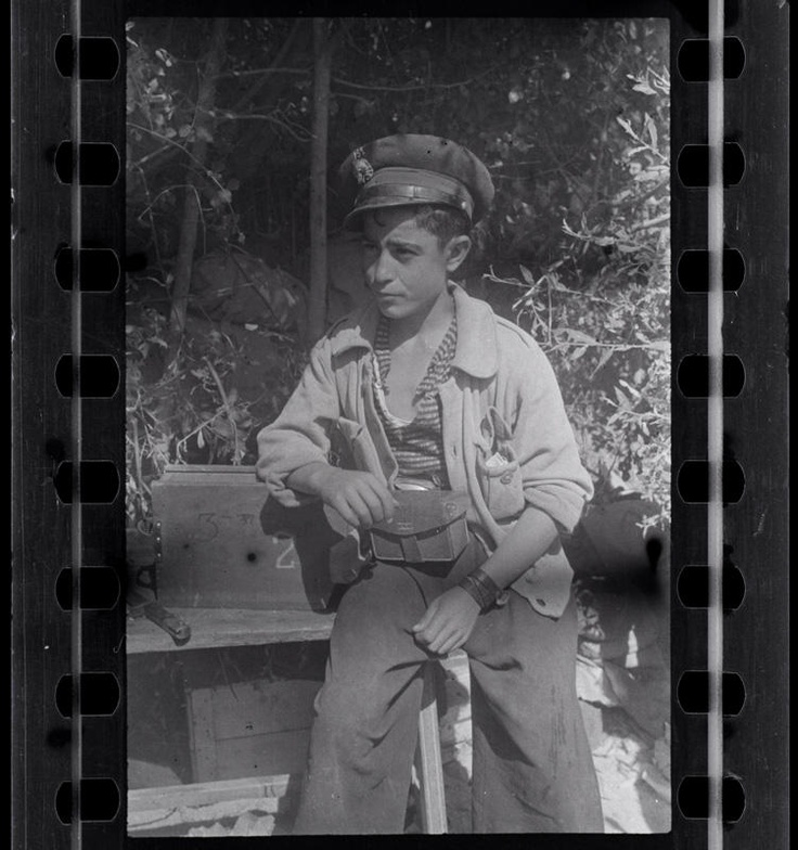 Young Republican soldier, Brunete, Spain, July 1937 by Gerda Taro