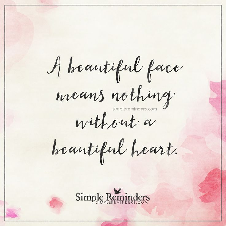 Quotes On Beautiful Face And Heart: 708 Best Various Sayings Images On Pinterest