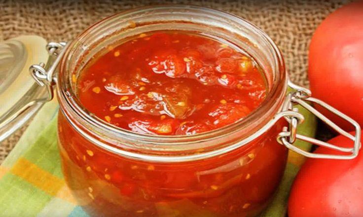 Ketchup aux fruits maison