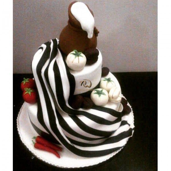 Nigerian wedding traditional TIV weddig cake ideas