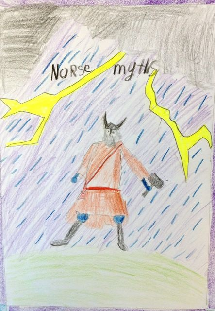 45 best 4th grade mythology images on pinterest greek mythology waldorf 4th grade norse mythology thor main lesson book fandeluxe Gallery