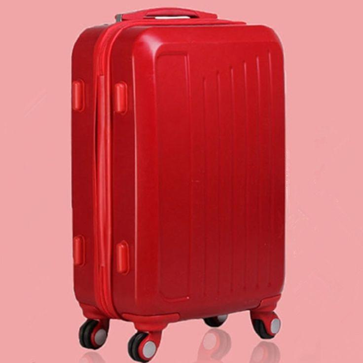 133.11$  Buy here - http://aliagm.worldwells.pw/go.php?t=1834271000 - YISHIDUN valiz men Aircraft wheel ABS + PC suitcase travel bags women suitcase universal wheels trolley rolling luggage bag 20 133.11$