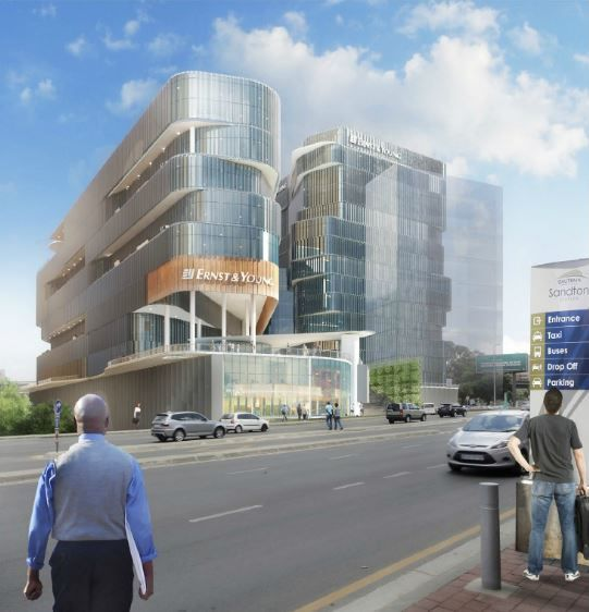 Ernst & Young's new South African headquarters in Gauteng.