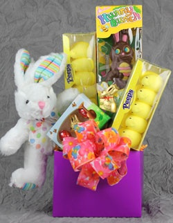 15 best easter gift baskets images on pinterest easter gift the kids will love this easter gift basket loaded with bunnies and peeps all the things we so fondly remember from when we were kids negle Images