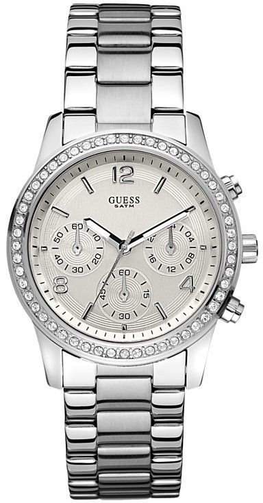#Guess #Watch , GUESS Feminine Contemporary Chronograph Watch