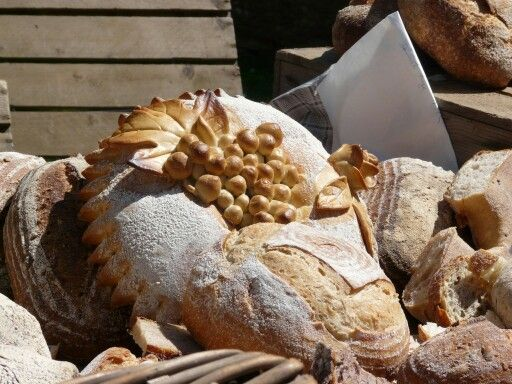 Loaves at the farmshop festival