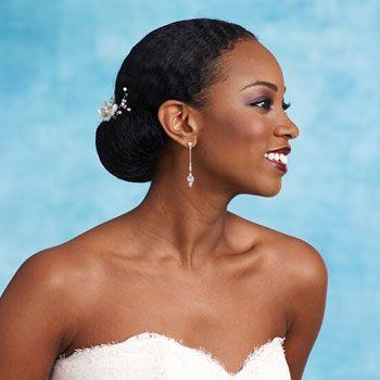 so pretty!: Black Hair, Hair Wedding, Africans American Wedding, Natural Hair, Hair Accessories, Bride Hairstyles, Hairstyles Ideas, Wedding Hairstyles, Black Women