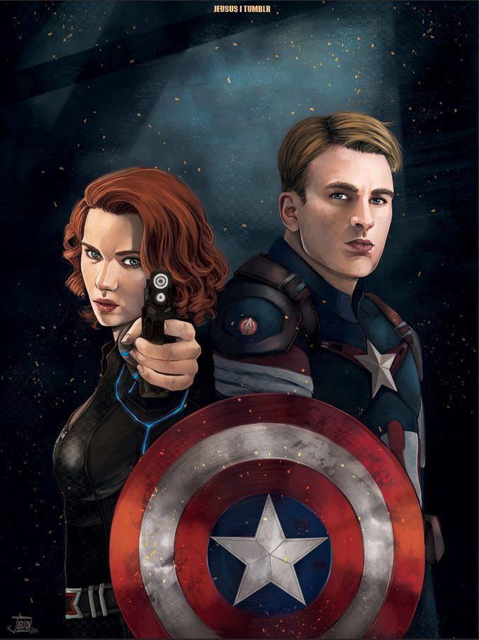 этом фото капитан америка и черная вдова картинки классика, которая