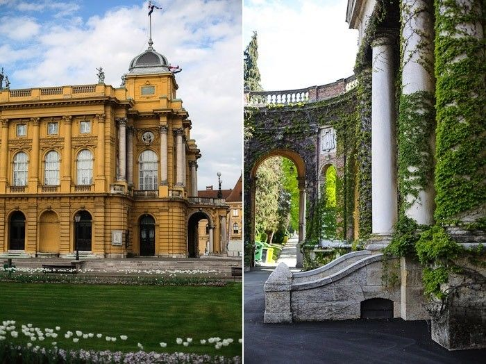 Travel Eastern Europe City Architecture Tourist Kroatien