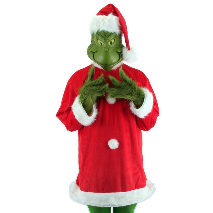 How the Grinch Stole Christmas! - The Grinch Deluxe Adult Costume from Buycostumes.com