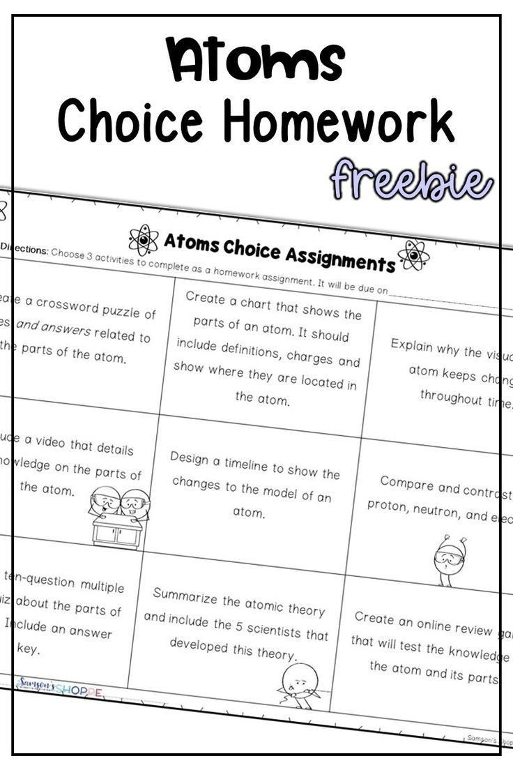 Development Of Atomic Theory Worksheet Atom Proton Neutron Electron Atomic Theory Choice Homework In 2020 Atomic Theory Atom Physical Science Lessons