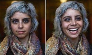 Фотограф показал, что происходит слюдьми, когда имговорят, что они красивы