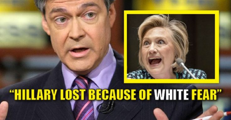 "Hillary shill and disgraced CNBC debate moderator, John Harwood is offering up his theory of why Hillary lost. It wasn't Russians, fake news, or recounts. According to Harwood, Hillary lost because of ""white fear."" Yeah, it wasn't the economy, national security, or jobs…..It was ""white fear."" Good grief. From Daily Caller: New York Times writer and CNBC reporter John Harwood, whose closeness with the Clinton campaign was exposed by WikiLeaks, believes Democrats' electoral failures under…"