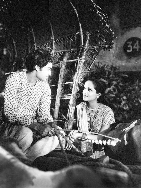 Ashok Kumar and Devika Rani.
