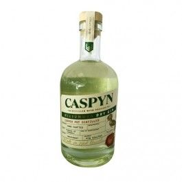 Caspyn Gin. Tasted at Gin Shack. More peppery than the salcombe. Mixed with ft elderflower tw and a twist of orange was a taste sensation