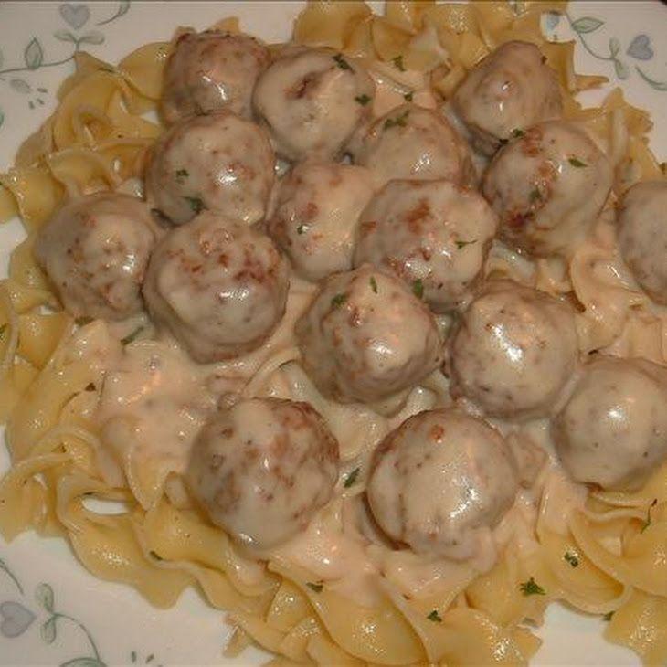 Easy Swedish Meatballs Recipe- I would request Swedish Meatballs or ...
