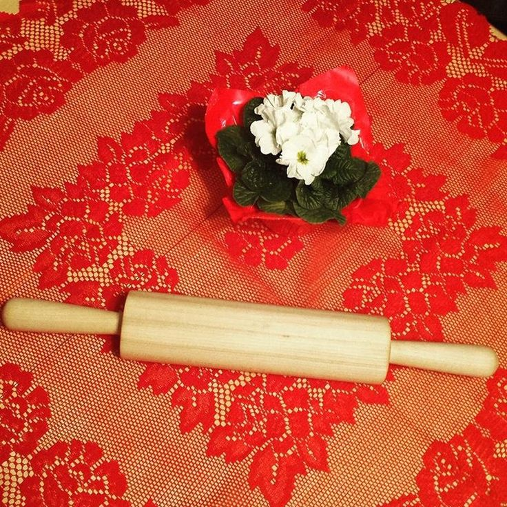 Basswood rolling pin