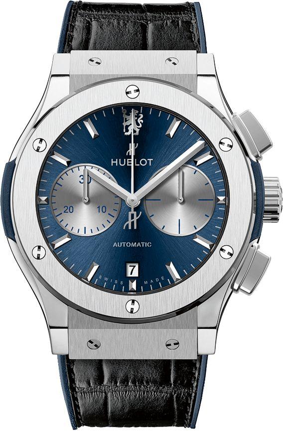 La Cote des Montres : La montre Hublot Classic Fusion Chronograph Chelsea - Hublot présente sa première montre conçue en partenariat avec le Chelsea Football Club, champion en titre de première division