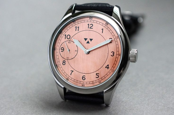 'The Numeric Classic' - 44mm hand wound version with a naked copper dial.