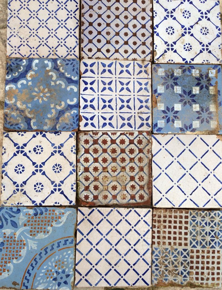 Old sicilian tiles/Italy