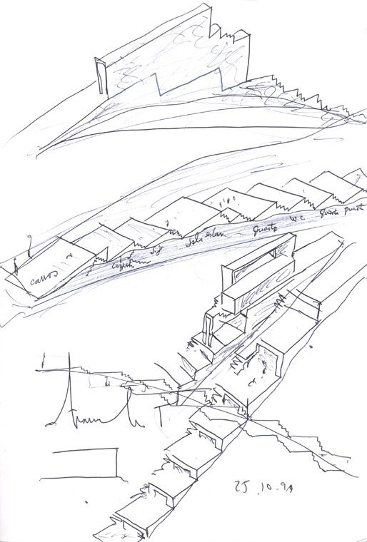 Architecture Houses Sketch 222 best architectural sketches images on pinterest | drawings