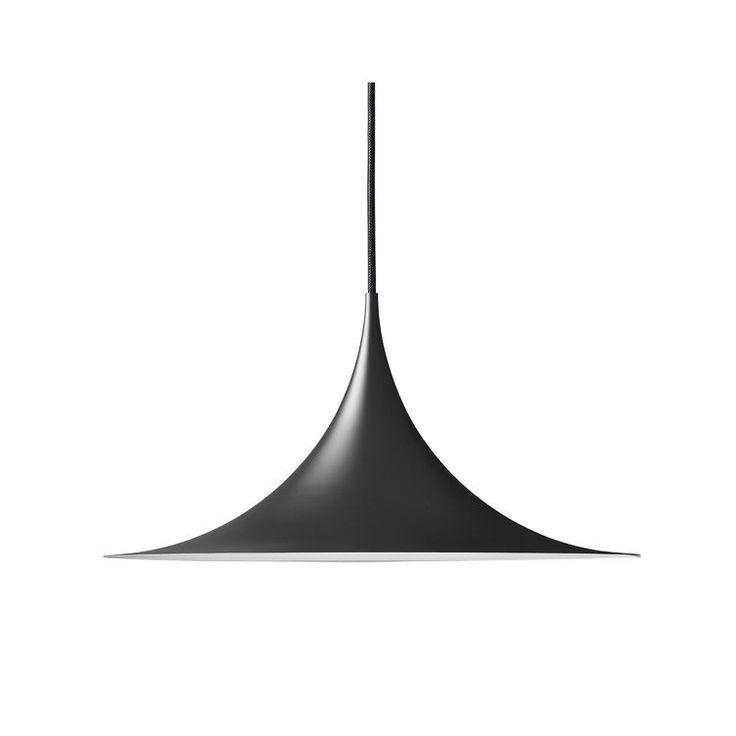 Semi pendel Ø 47 svart i gruppen Belysning / Lamper / Taklamper hos ROOM21.no (106601)