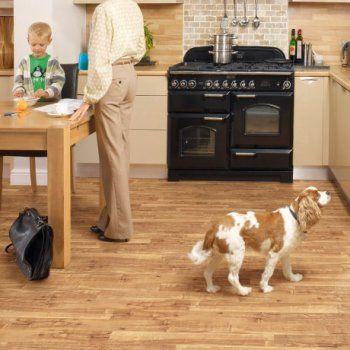 Polyflor Camaro Nut Tree Vinyl Flooring Tiles - Every Floor Direct