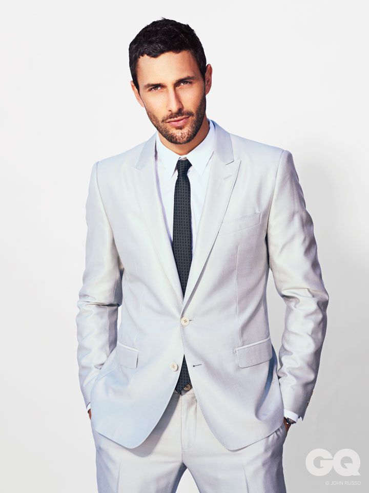 Noah Mills GQ by John Russo in a Dolce & Gabbana themed editorial for the April 2013 of GQ Style Mexico