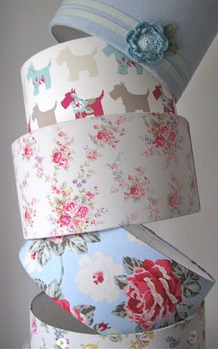 Cath Kidston Lampshades - love love love these, especially the doggy one