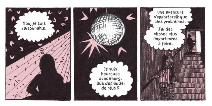 LesInrocks - Ménage à trois, violence, obsession… La dessinatrice Ulli Lust poursuit le récit sans concession de sa vie