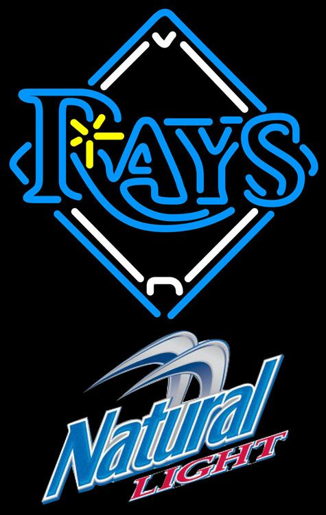 Natural Light Tampa Bay Rays MLB Neon Sign 3 0011, Natural Light with MLB Neon Signs | Beer with Sports Signs. Makes a great gift. High impact, eye catching, real glass tube neon sign. In stock. Ships in 5 days or less. Brand New Indoor Neon Sign. Neon Tube thickness is 9MM. All Neon Signs have 1 year warranty and 0% breakage guarantee.